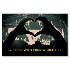 Worshiper Heart Postcard