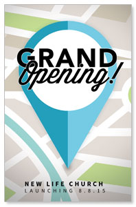 Grand Opening Pin Postcards