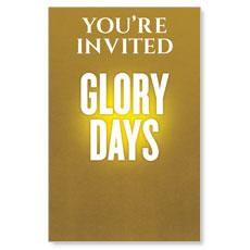 Glory Days Postcard