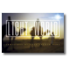 Light of the World Wise Men Postcard