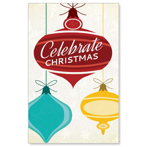 Retro Ornaments DIY Postcard Packs