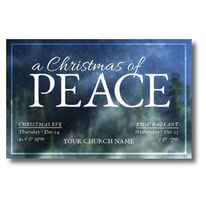 Christmas of Peace Postcards