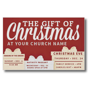 Gift of Christmas Postcards