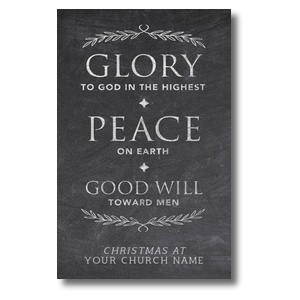 Glory Peace Goodwill Postcards