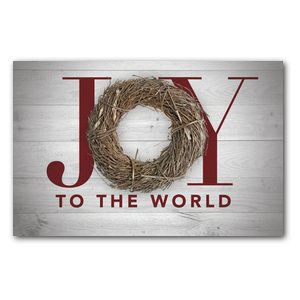 Joy Twig Wreath DIY Postcard Packs