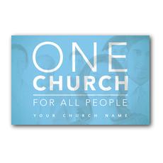 One Church Postcard