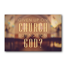 Given up Church Postcard