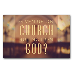 Given up Church Postcards