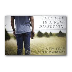 Direction Field Postcard