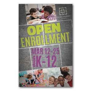 Open Enrollment Postcards