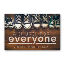 Everyone Shoes Postcard