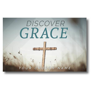 Discover Grace Cross Postcards