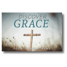 Discover Grace Cross Postcard
