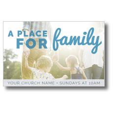 For Family Postcard