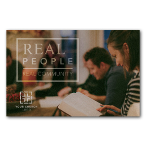 Real People Real Community Postcards