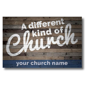 Different Kind of Church Postcards