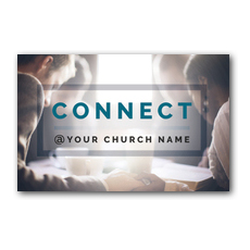 Connect Postcard