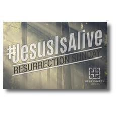 JesusIsAlive Postcard