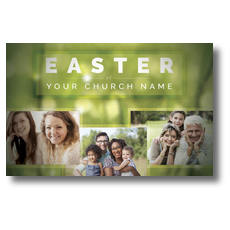 Easter Photos Postcard