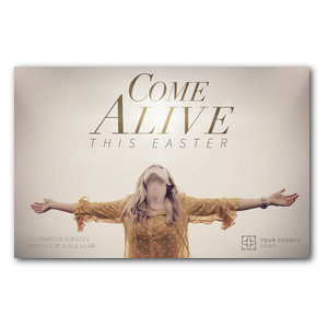 Come Alive This Easter Postcards
