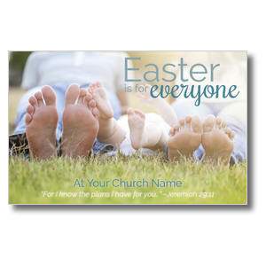 Easter Is For Everyone Postcards
