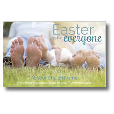 Easter Is For Everyone Postcard