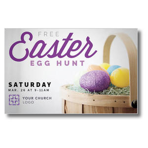 Easter Egg Hunt Postcards