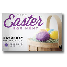 Easter Egg Hunt Postcard