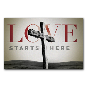 Love Starts Here Postcards