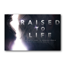 Raised to Life Postcard