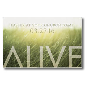 Alive Easter Postcards