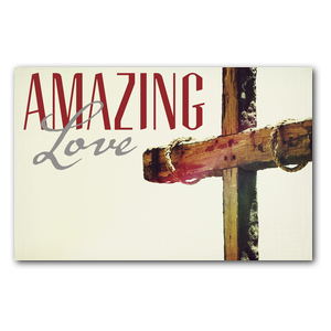 Amazing Love Cross DIY Postcard Packs