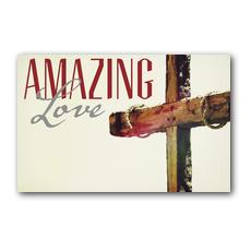 Amazing Love Cross Postcard