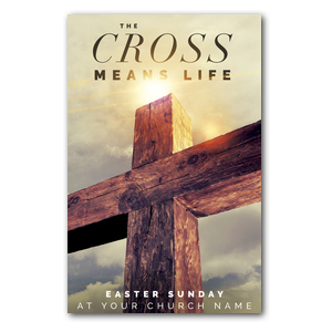 Cross Means Life Postcards