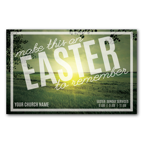 Easter to Remember Green ImpactCards