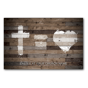 Cross Equals Love Postcards