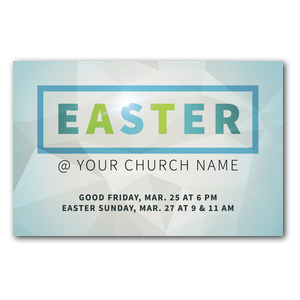 Easter At Rectangle Postcards