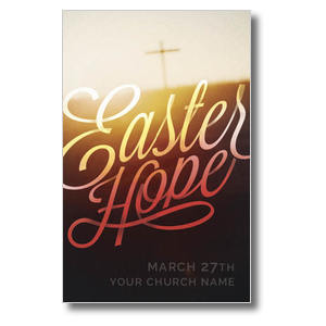 Easter Hope Script Postcards