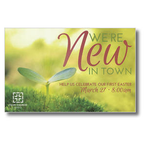 New In Town Easter Postcards