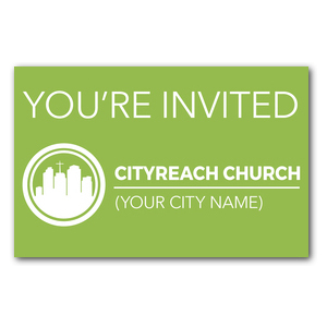 CityReach Green Postcards