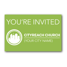 CityReach Green Postcard