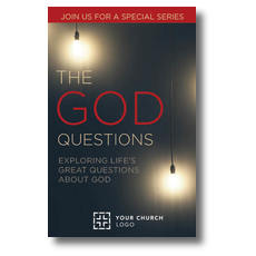 God Questions Postcard