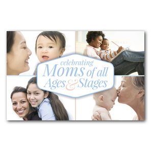 Stages of Motherhood Postcards