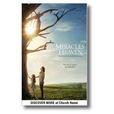 Miracles from Heaven Church Postcard