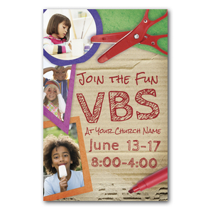 VBS Crafts Postcards