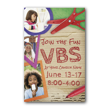 VBS Crafts Postcard