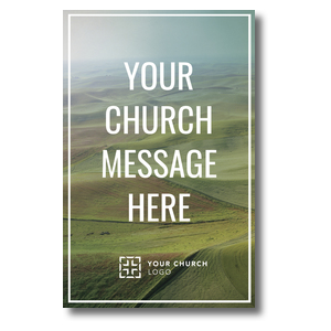 Rolling Hills Church Postcards