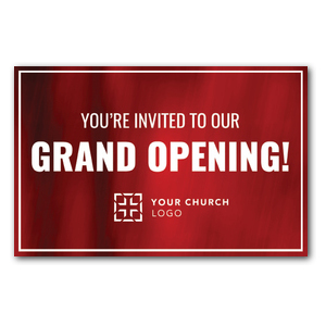 Red Curtain Church Postcards