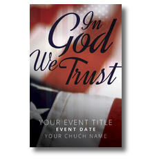 God We Trust Postcard
