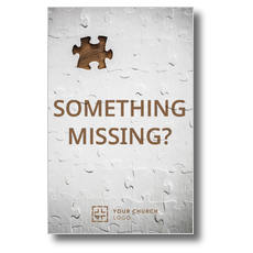 Something Missing Postcard